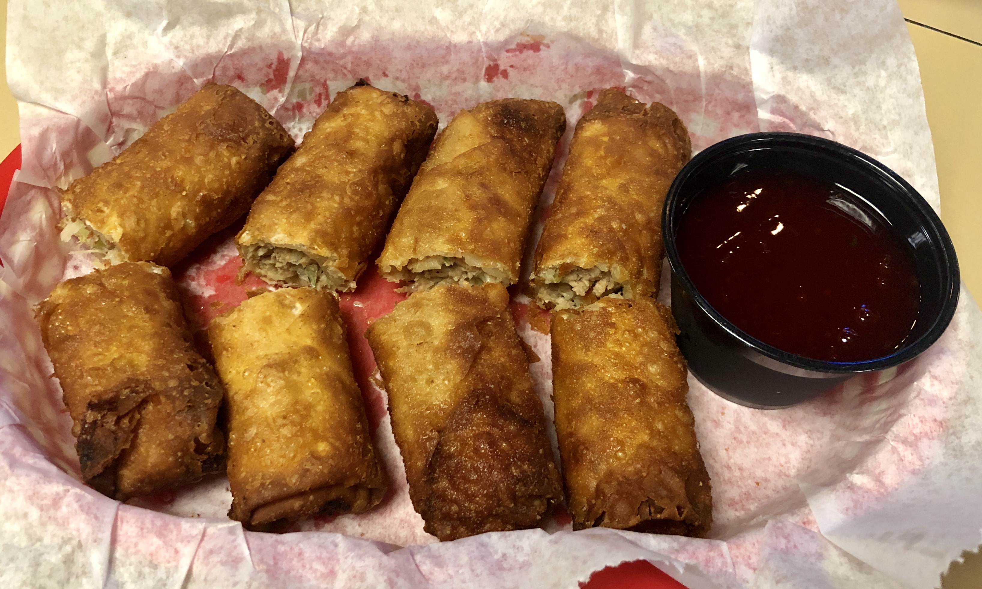 Image of the Egg Rolls at Shakopee Bowl