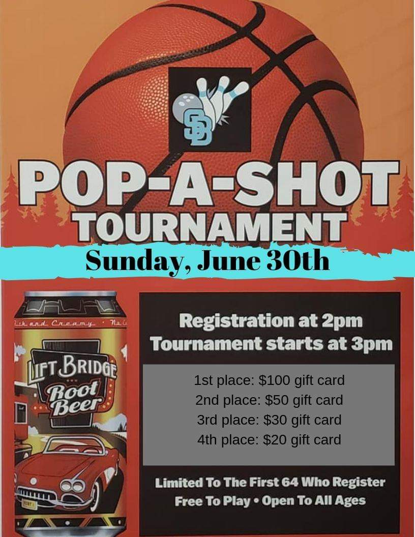 pop a shot tournament