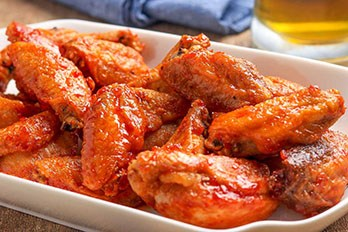 Falange smacking deliciousness! We think our wings are great, you will too!