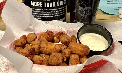 Image of the Cheese Curds at Shakopee Bowl