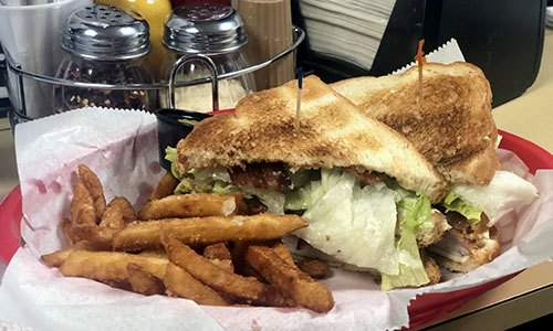 Image of the Club Sandwich at Shakopee Bowl